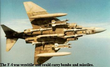F-4  with a full load